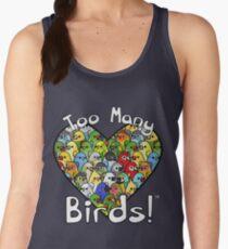 Too Many Birds! Bird Squad 1 Women's Tank Top