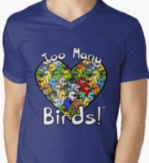 Too Many Birds! Bird Squad 1 Men's V-Neck T-Shirt