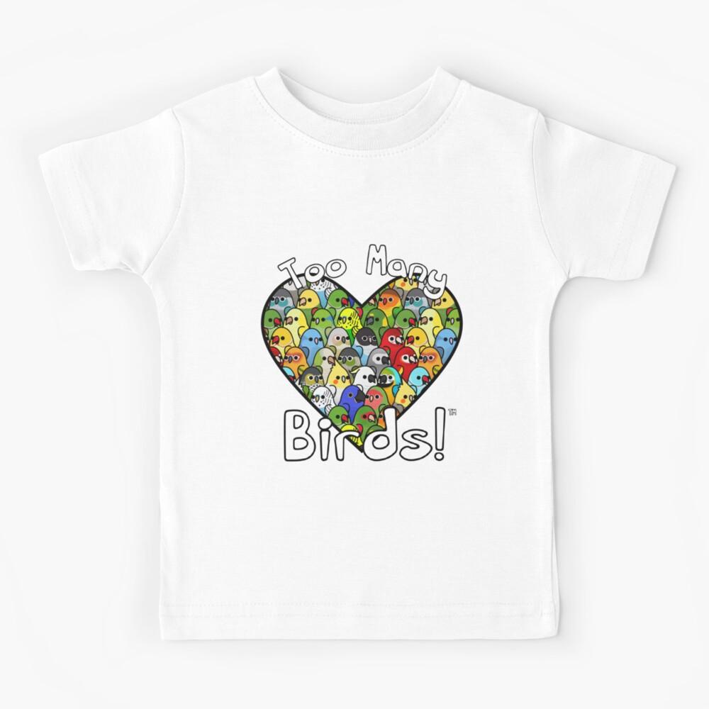 Too Many Birds! Bird Squad Classic Kids T-Shirt