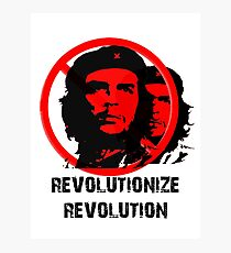 Revolutionize Revolution Photographic Print