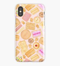 Assorted Biscuits - Pink iPhone Case/Skin