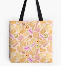 Assorted Biscuits - Pink Tote Bag