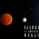 Illusion is sweeter than reality 2 by Subhrajit Datta