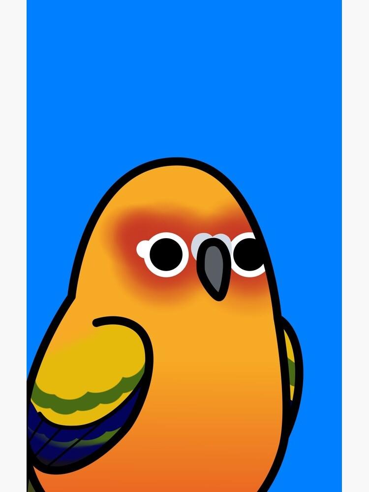 Zu viele Vögel! - Sonnensittich von MaddeMichael