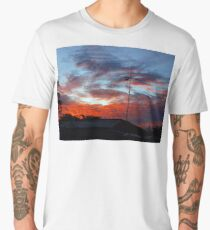 SUBURBAN SUNSET Men's Premium T-Shirt