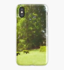 Ladew's Topiary Hunt iPhone Case