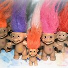 Mini Trolls by Sheri Nye