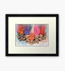 Mini Trolls Framed Print