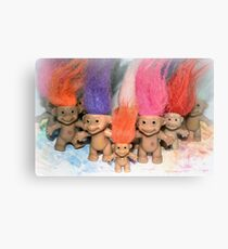 Mini Trolls Canvas Print