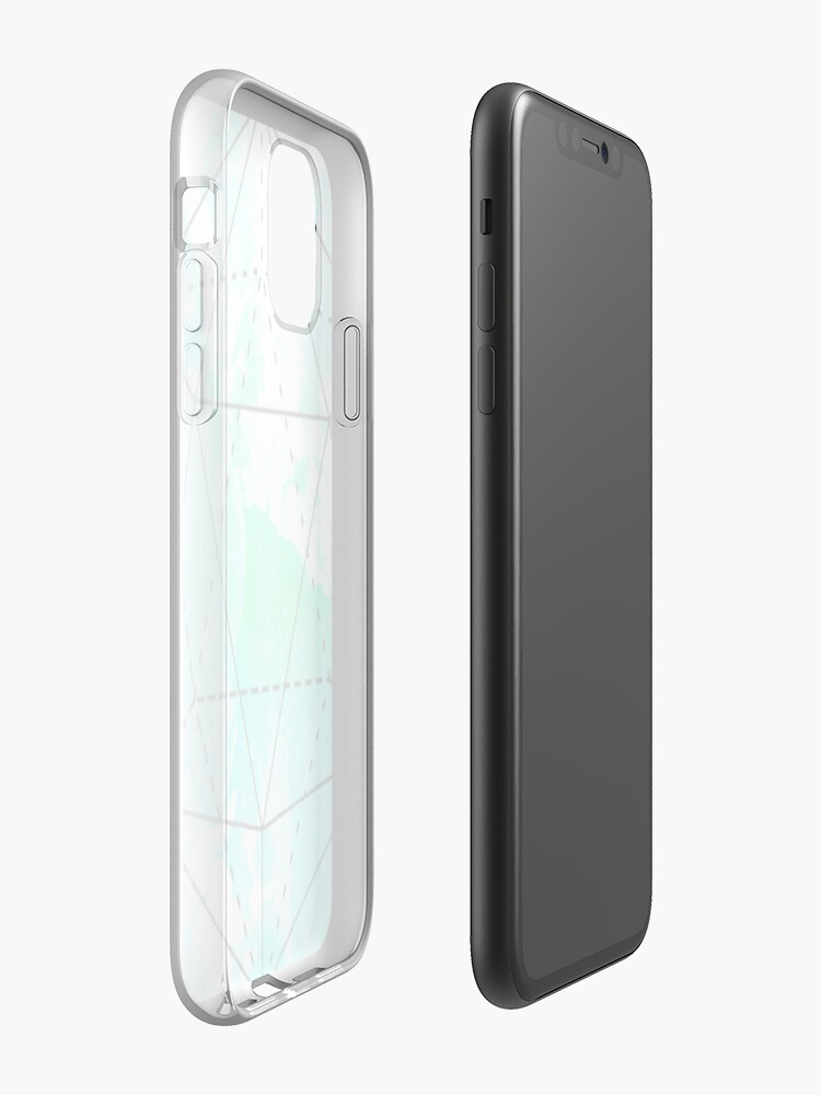 Coque iPhone « Conception esthétique de prisme », par warddt