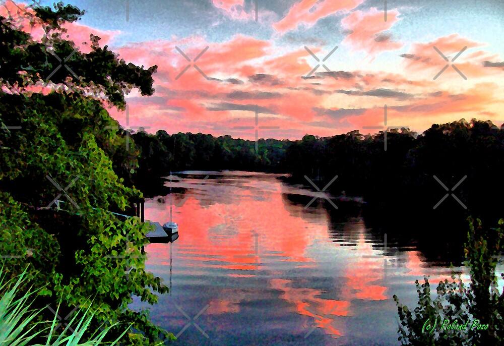 Suwannee Sunset by photorolandi