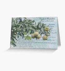 Grapefruit Marmalade Greeting Card