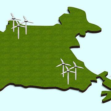 India wind energy by funkyworm
