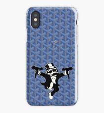 Blue Goyard Monopoly iPhone Case/Skin