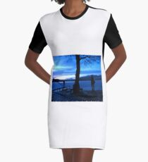 Christmas At The Trossachs Graphic T-Shirt Dress