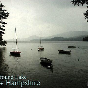 Newfound Lake Poster by waynedking