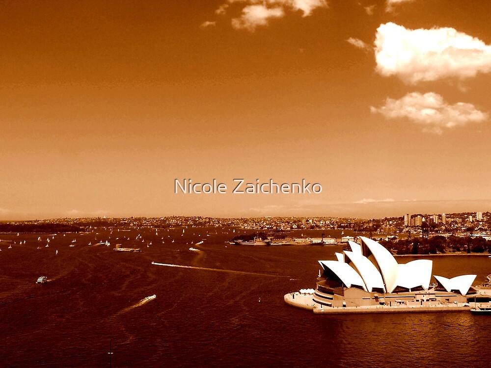 Opera House, Sydney Habour by Nicole Zaichenko