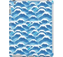 sea wave pattern iPad Case/Skin