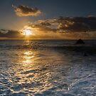 Sandymouth bay Cornwall by eddiej