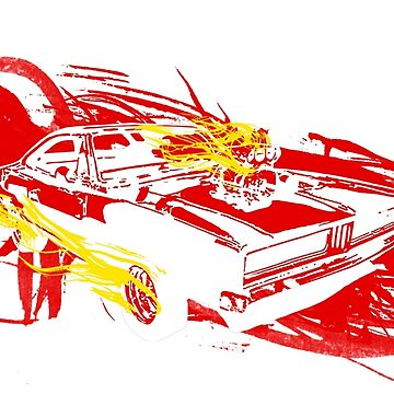 Ghost Rider Splash by thebatteryhuman
