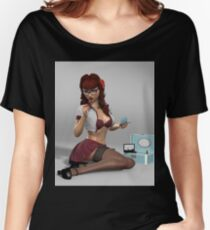 Rockin Pinup  Women's Relaxed Fit T-Shirt