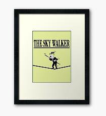 The Sky Walker Framed Print