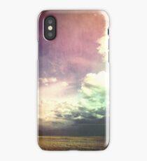 Purple Wired Skies iPhone Case/Skin