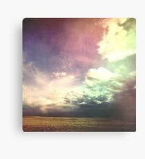 Purple Wired Skies Canvas Print
