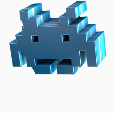 3d Space Invader. by LewisJamesMuzzy