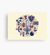 Zelda Essentials Canvas Print