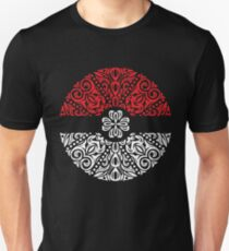 Floral Pokeball T-Shirt