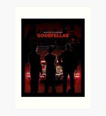 Goodfellas - der Film Gangster Kunstdruck