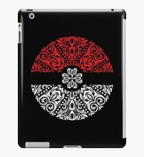 Floral Pokeball iPad Case/Skin