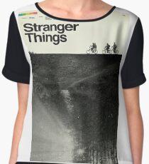 Stranger Things Polaroid Chiffon Top