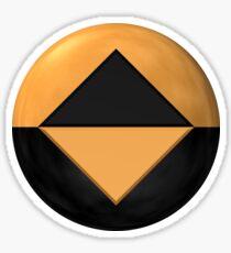 Original Computer Protector Badge (3D render) Sticker