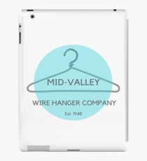 Mid-Valley Wire Hanger Company  iPad Case/Skin