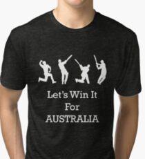 Let's Win It for Australia! Tri-blend T-Shirt