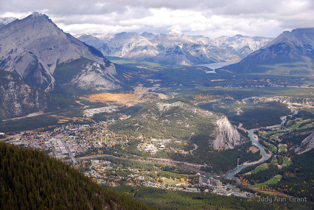 Top of Banff  by Judy Grant
