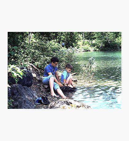 Blue Pond, Newfoundland Photographic Print