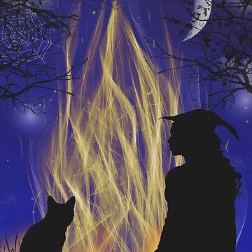 Bonfire by MaureenMarlowe