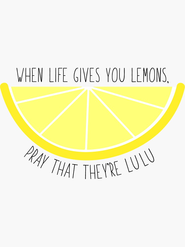 Cuando la vida te da limones de zariagrace