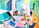 Abstract Interior #43 by Lisa V Robinson