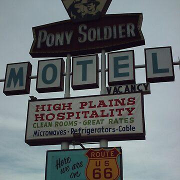 Original Motel Sign Tucumcari by spiritofroute66