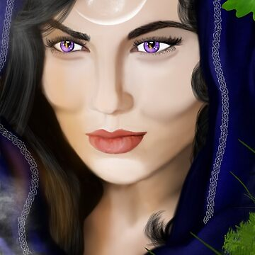 Morgan le Fay by MaureenMarlowe