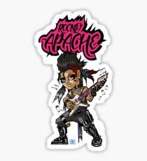 ROCKIN' APACHE Sticker