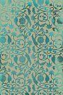 Blue Lotus Pattern  by Thoth Adan