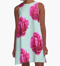 Pink peony A-Line Dress