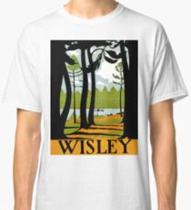 Wisley gardens, London, vintage travel poster Classic T-Shirt