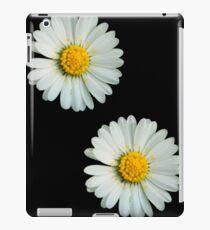 Two white daisies iPad Case/Skin