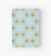 Two white daisies Hardcover Journal